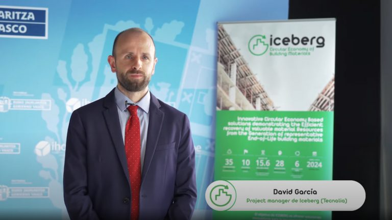 """ICEBERG aims to achieve 35 innovative results from real applications to improve circularity in the construction sector"""